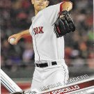 Rick Porcello 2017 Topps #28 Boston Red Sox Baseball Card