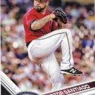 Hector Santiago 2017 Topps #336 Minnesota Twins Baseball Card