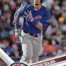 Jorge Soler 2017 Topps #166 Chicago Cubs Baseball Card