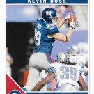 Kevin Boss 2011 Score #193 New York Giants Football Card