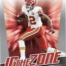 Dwayne Bowe 2011 Score In The Zone #8 Kansas City Chiefs Football Card