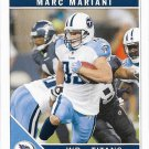Marc Mariani 2011 Score #286 Tennessee Titans Football Card
