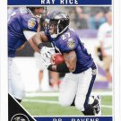 Ray Rice 2011 Score #27 Baltimore Ravens Football Card