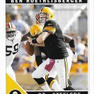 Ben Roethlisberger 2011 Score #227 Pittsburgh Steelers Football Card