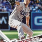 Clayton Kershaw 2017 Topps #50 Los Angeles Dodgers Baseball Card
