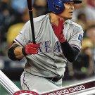 Shin-Soo Choo 2017 Topps #290 Texas Rangers Baseball Card