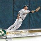 Jake Smolinski 2017 Topps #11 Oakland Athletics Baseball Card