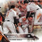 Pedro Alvarez 2016 Topps Update #US8 Baltimore Orioles Baseball Card