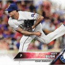 Matt Bush 2016 Topps Update Rookie #US235 Texas Rangers Baseball Card