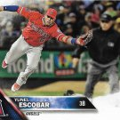 Yunel Escobar 2016 Topps Update #US76 Los Angeles Angels Baseball Card
