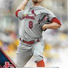 Mike Leake 2016 Topps #578 Cincinnati Reds Baseball Card
