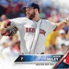 Wade Miley 2016 Topps #301 Boston Red Sox Baseball Card