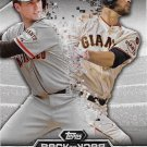 Buster Posey-Brandon Belt 2016 Topps Back To Back #B2B-3 San Francisco Giants Baseball Card