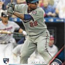 Miguel Sano 2016 Topps Update Rookie Debut #US171 Minnesota Twins Baseball Card