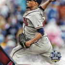 Julio Teheran 2016 Topps Update #US299 Atlanta Braves Baseball Card