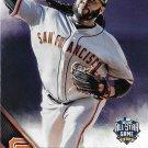 Johnny Cueto 2016 Topps Update #US252 San Francisco Giants Baseball Card