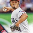 Yu Darvish 2016 Topps #418 Texas Rangers Baseball Card