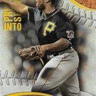 Josh Harrison 2016 Topps Pressed Into Service #PIS-7 Pittsburgh Pirates Baseball Card
