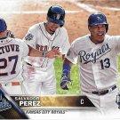 Salvador Perez 2016 Topps Update #US206 Kansas City Royals Baseball Card