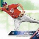 Anthony Rendon 2016 Topps #520 Washington Nationals Baseball Card