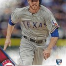 Ryan Strausborger 2016 Topps Rookie #575 Texas Rangers Baseball Card