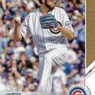 Jason Hammel 2017 Topps Salute #S-41 Chicago Cubs Baseball Card