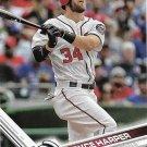 Bryce Harper 2017 Topps #34 Washington Nationals Baseball Card