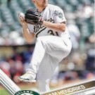 Liam Hendriks 2017 Topps #262 Oakland Athletics Baseball Card