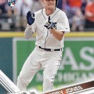 JaCoby Jones 2017 Topps Rookie #139 Detroit Tigers Baseball Card