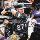 Trevor Story 2017 Topps Five Tools #5T-29 Colorado Rockies Baseball Card