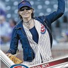 Joan Jett 2017 Topps First Pitch #FP-8 Baseball Card