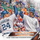Miguel Cabrera-J.D. Martinez 2016 Topps #94 Detroit Tigers Baseball Card