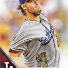 Clayton Kershaw 2016 Topps #150 Los Angeles Dodgers Baseball Card