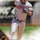 Jimmy Paredes 2016 Topps #6 Baltimore Orioles Baseball Card
