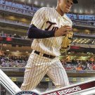 Jose Berrios 2017 Topps #8 Minnesota Twins Baseball Card