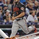 Michael Bourn 2017 Topps #127 Baltimore Orioles Baseball Card