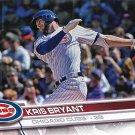 Kris Bryant 2017 Topps #1 Chicago Cubs Baseball Card