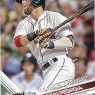 Dustin Pedroia 2017 Topps #321 Boston Red Sox Baseball Card