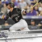 Trevor Story 2017 Topps #42 Colorado Rockies Baseball Card