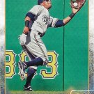 Khris Davis 2015 Topps #115 Milwaukee Brewers Baseball Card