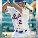 Dilson Herrera 2015 Topps Rookie #241 New York Mets Baseball Card