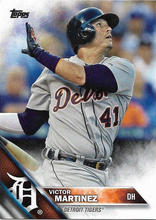 Victor Martinez 2016 Topps #340 Detroit Tigers Baseball Card