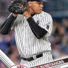 Dellin Betances 2017 Topps #54 New York Yankees Baseball Card