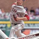 Clay Buchholz 2017 Topps #267 Boston Red Sox Baseball Card