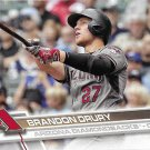 Brandon Drury 2017 Topps #470 Arizona Diamondbacks Baseball Card