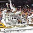 Pittsburgh Pirates 2017 Topps #472 Baseball Team Card
