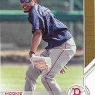 Mookie Betts 2017 Topps Salute #S-183 Boston Red Sox Baseball Card