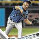 Brad Boxberger 2017 Topps #358 Tampa Bay Rays Baseball Card