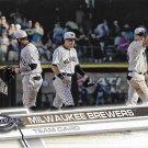 Milwaukee Brewers 2017 Topps #557 Baseball Team Card
