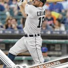 Tyler Collins 2017 Topps #687 Detroit Tigers Baseball Card